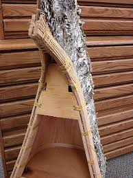 Canoe Bookcase Moose R Us Com Authentic Native American Made Birch Bark Canoe Shelf