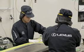 visit lexus factory japan go inside the lexus lfa factory on the downshift