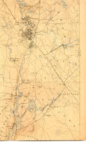 Massachusetts On The Map by Taunton River Maps