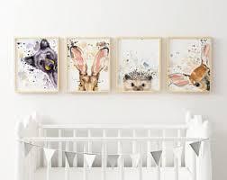 Watercolor nursery