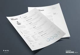 Resume Templates For Indesign The Best Cv U0026 Resume Templates 50 Examples Design Shack