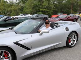 corvette owners corvette owners gather for annual blessing of the vettes