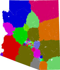 Florida Congressional District Map by Arizona House Of Representatives Redistricting