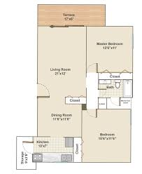 Bedroom Floor Planner by Apartments In Bryn Mawr Pa Radwyn Floor Plans U0026 Rents