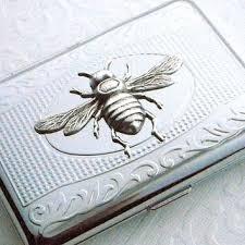 Rhinestone Business Card Holder Shop Vintage Cigarette Holder On Wanelo