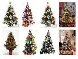 mini artificial tree with decoration