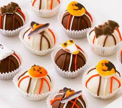 halloween chocolate balls halloween cake balls cake bites