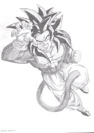 dragon ball super saiyan 10 pencil drawings drawing sketch