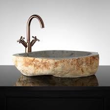 natural stone vessel sink pink camo bathroom sets images modern