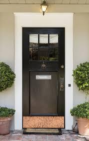 Exterior Door Kick Plate This Unique Custom Door Kick Plate Is 100 American Copper And Ads