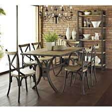 kitchen american country wood dining tables and chairs wrought