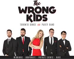 wedding band toronto the wrong kids wedding band toronto party band the