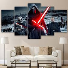 5 piece canvas art star wars artwork ash wall decor 5 piece canvas art star wars artwork ash wall decor wall art picture painting