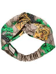 tiger headband gucci slides rack gucci tiger print headband 9667 women