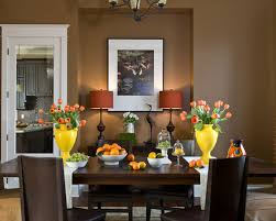 best of brown dining room decor with dining room brown decor