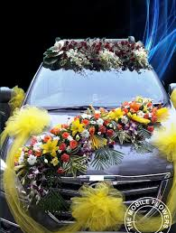 decoration flowers wedding car decoration online flowers and bouquet delivery in