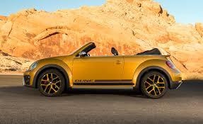 yellow volkswagen convertible 2016 volkswagen beetle dune convertible exterior full side 8887