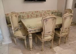 Painted Kitchen Tables Renaissance Architectural Renaissance Hand Painted Furniture