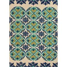 Indoor Outdoor Patio Rugs by Stunning Terra Turquoise And Blue Outdoor Patio Rug U2013 Sky Iris