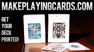 deck review makeplayingcards com make your own deck of cards