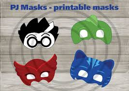 instand dl pj masks printable masks printable bb8jony