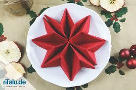 weihnachtsservietten falten anleitung servietten falten für weihnachten sterne engel co