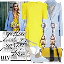 yellow u0026 pastel blue women u0027s asos fashion finder