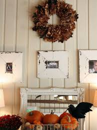 recycled materials for home decor 9 ways to deck out your walls for fall hgtv