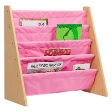 Fabric Sling Bookshelf Kidkraft 4 Shelf Primary Colored Sling Bookshelf With