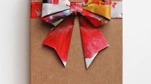 gift bow diy diy origami bows from magazine pages make