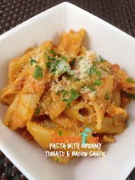 thermofun mad monday pasta with creamy tomato and bacon sauce