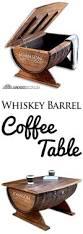 best 25 whiskey barrel coffee table ideas on pinterest barrel