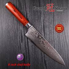 japanese steel kitchen knives professional chef knife 8 inch damascus japanese kitchen knives