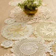 Gold Lace Table Runner Photos Hgtv