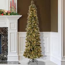 jaclyn smith 4 5 u0027 pre lit slim pine christmas tree kmart