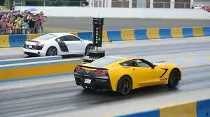 corvette vs audi r8 audi r8 vs corvette c7 supercargado arrancones pegaso enero 2015