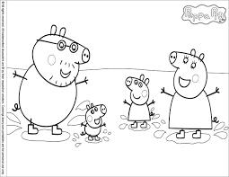 dessin de coloriage peppa pig à imprimer cp20500