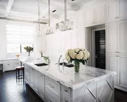 Marble Kitchen Islands White Marble Kitchen Friday Favorites Kitchens Marbles And White