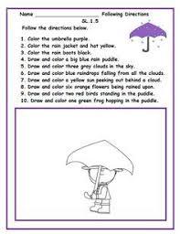 free worksheets to help children develop strong listening skills