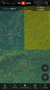 Montana Hunting Maps by Onx Hunt App Gps Hunting App U0026 Hunting Map Apps Onxmaps Onx