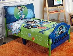 Spaceship Crib Bedding by Amazon Com Disney 4 Piece Toddler Bedding Set Miles From