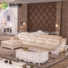 European Living Room Furniture Luxury European Style Living Room Salon Furniture I Shape