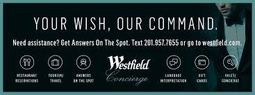 services at westfield garden state plaza