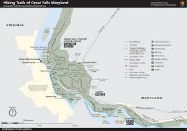 Maryland On A Map Billy Goat Trail Chesapeake U0026 Ohio Canal National Historical