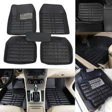 5pcs car floor mats front u0026 rear liner waterproof all weather