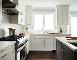 gray kitchen walls with white cabinets light blue green walls with white kitchen cabinets