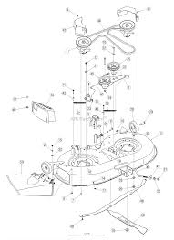 mtd 13an771g729 2005 parts diagram for deck assembly g