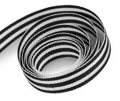 black and white striped ribbon white black striped ribbon finerribbon