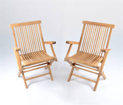 Teak Patio Furniture by Teak Outdoor Folding Chair 2 Pack Tortuga Outdoor