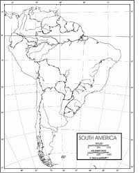 outline of south america map south america outline map from onlyglobes